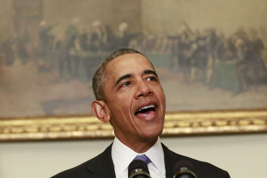US President Barack Obama offered holiday greetings to Iranians celebrating the first new year since a landmark nuclear deal.