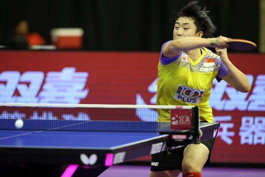 Feng Tianwei was defeated by China's Ding Ning in the ITTF World Tour Kuwait Open semi-finals on March 20, 2016.