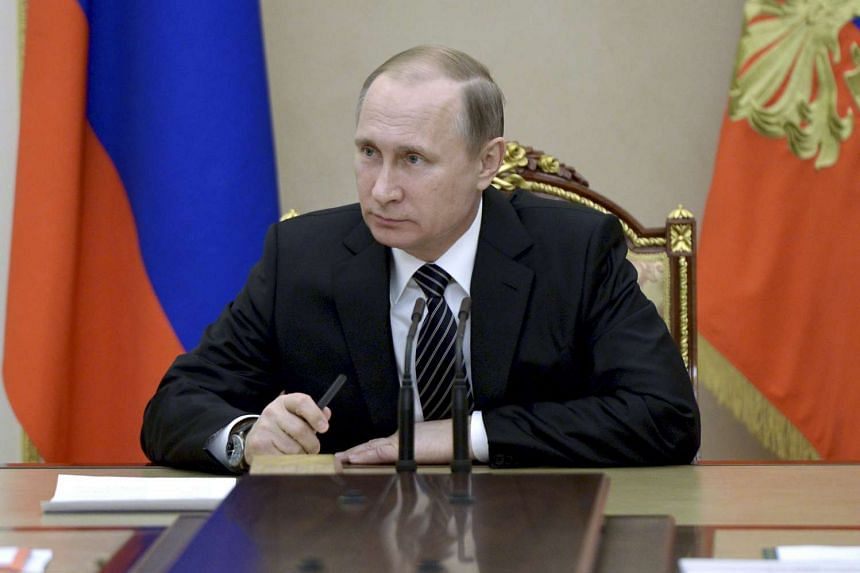 Vladimir Putin's trust rating among ordinary Russians has fallen by 10 per cent in the past year.