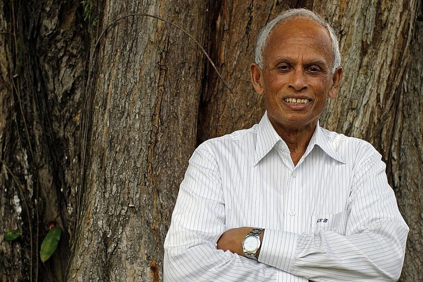 """Prof Biswas said his passion for water did not come naturally. """"I did not choose water. It chose me."""""""