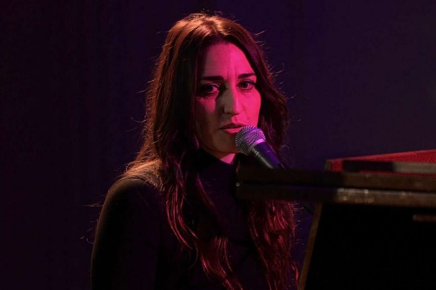 The Waitress musical is penned by Sara Bareilles (above).