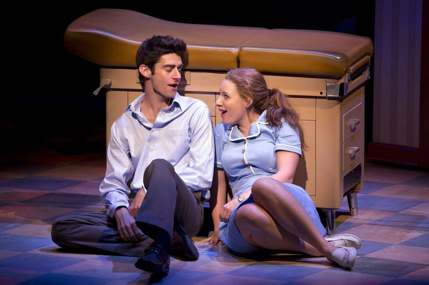 The Waitress musical (above) is penned by Sara Bareilles.