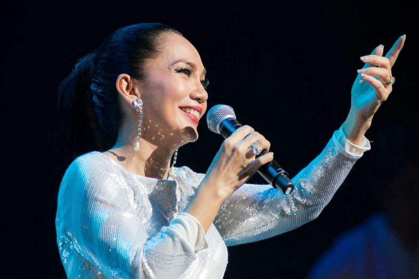 Singer Sheila Majid impressed the crowd in a musically flawless show.