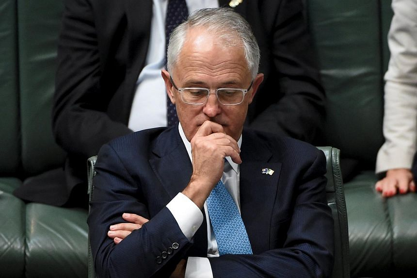 Australian Prime Minister Malcolm Turnbull at the House of Representatives in Canberra on March 17, 2016.