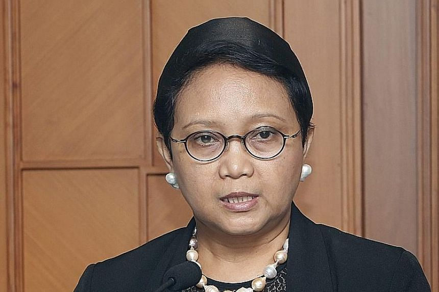 Ms Retno said the Chinese vessel's actions undermined Indonesia's law enforcement efforts.