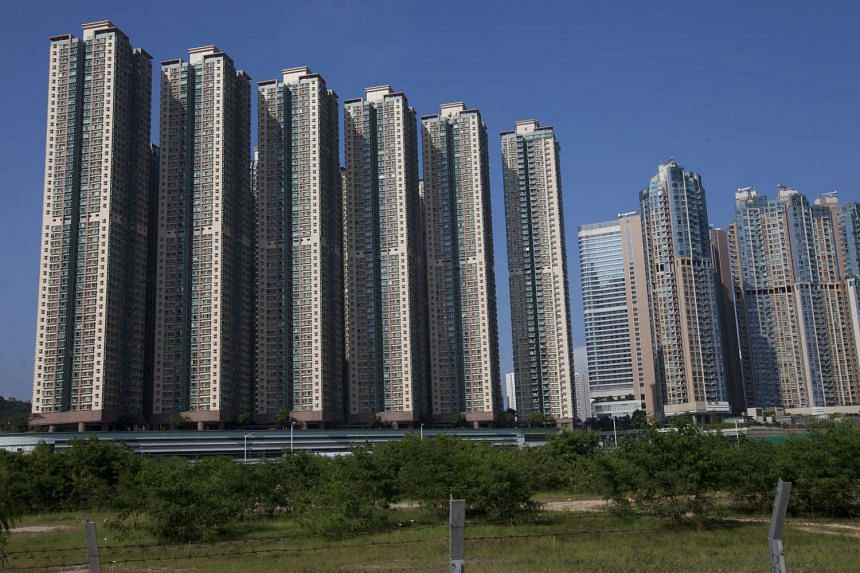 A file photo showing mass residential housing in Kowloon, Hong Kong.