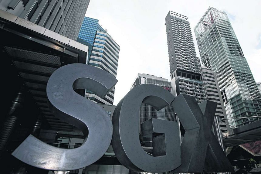 The Singapore Exchange (SGX) premises at the central business district in Singapore.