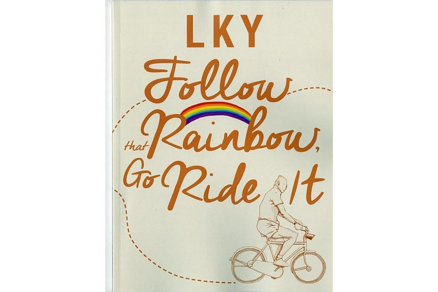 The LKY: Follow That Rainbow, Go Ride It workbook distributed to all secondary schools for free.