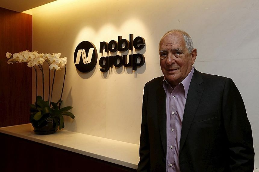 """Talk is cheap, says Mr Elman, hitting out at Noble's critics. """"It's coming up with strategies and implementing them that's hard - and that should be left to the ones who have their boots on the ground,"""" says the company's chairman."""