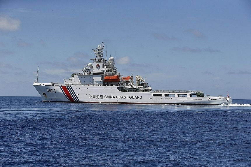 A Chinese coast guard vessel intervened and prevented the Indonesian maritime authorities from seizing a Chinese fishing boat that Jakarta said was poaching in the country's waters.