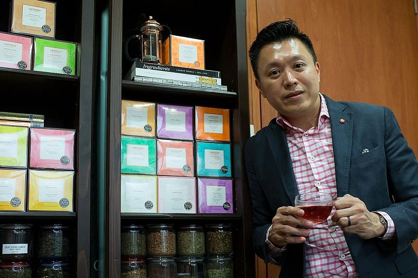 Gryphon Tea's founder and executive director Lim Tian Wee has a brief message for companies thinking about how to achieve the next level of growth: Go online.