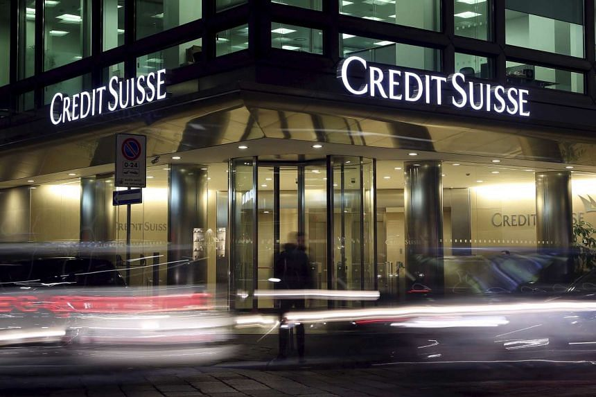 The Credit Suisse logo is seen at offices in Milan, Italy, in this March 9, 2016 file photo.