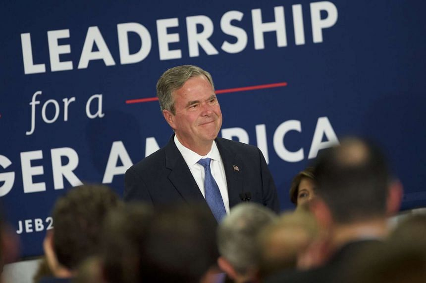 Jeb Bush urged voters to contribute and volunteer for Cruz's campaign on March 23, 2016.