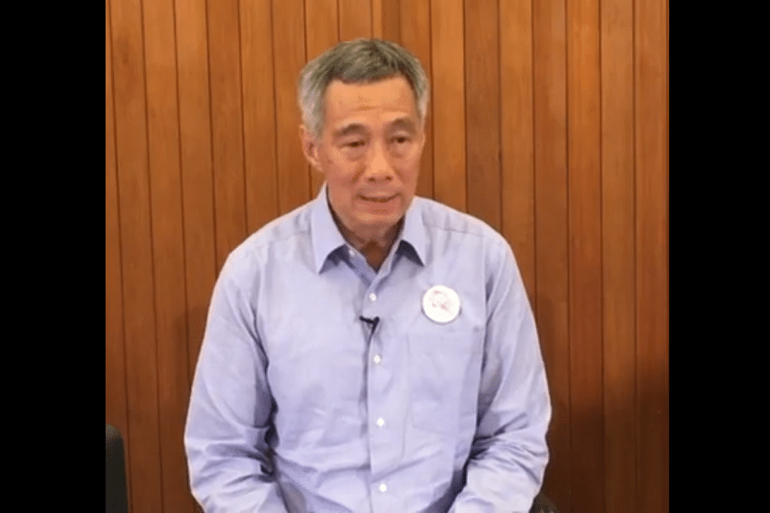 Prime Minister Lee Hsien Loong gave brief remarks at the start of a Cabinet meeting on Wednesday (March 23) to mark the one-year anniversary of Mr Lee Kuan Yew's death.