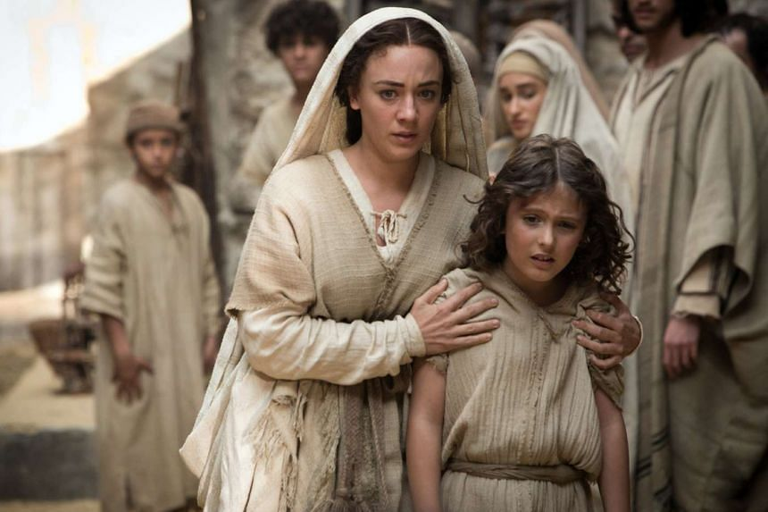 The Young Messiah stars Sara Lazzaro as Mary and Adam Greaves-Neal as the boy Jesus.
