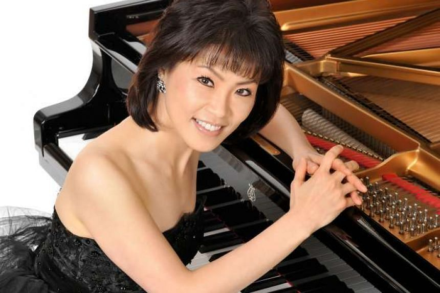 Pianist Noriko Ogawa has organised concerts that take place in the day and serve tea and biscuits afterwards for caregivers of those with autism. However, her concert here on Saturday is a regular one.