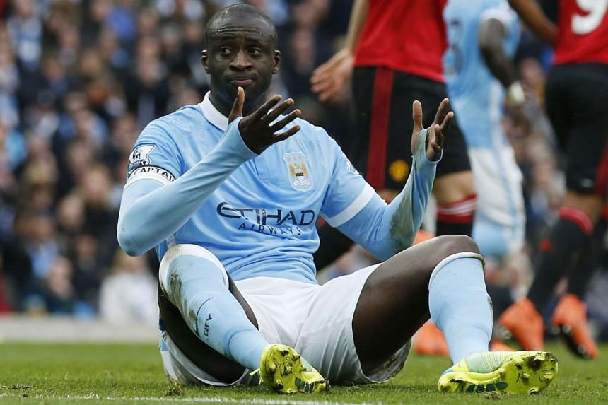 The Manchester City player suffered a recurrence of a heel injury in Sunday's 1-0 defeat at home by Manchester United.