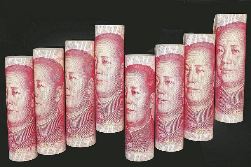 100 Yuan notes are seen in this file illustration picture in Beijing.