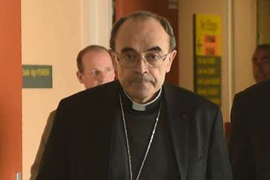 """Cardinal Philippe Barbarin said he apologised even though he was not in power in the diocese """"when the abominable acts took place""""."""