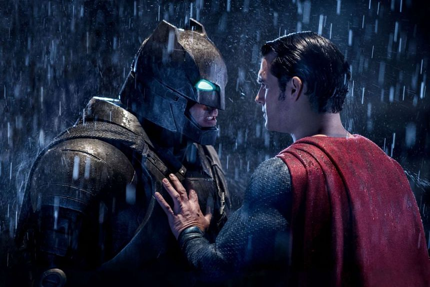 Ben Affleck (left) and Henry Cavill star as the titular characters in Batman V Superman: Dawn Of Justice.
