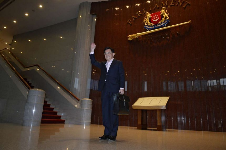 The Singapore Government will achieve a $3.45 billion surplus this year, said Finance Minister Heng Swee Keat on March 24, 2016.