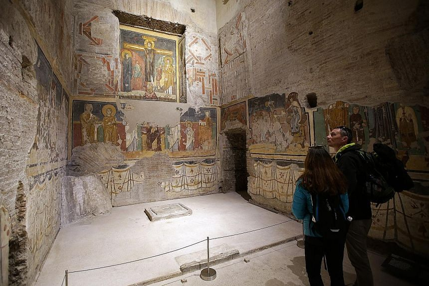 """The site boasts a rare collection of early Christian art, and is said to have the """"best of figurative culture of the Christian world between Rome and Byzantium""""."""