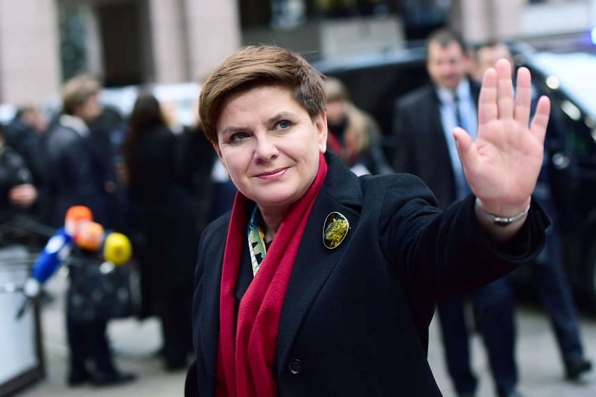 Poland's Prime minister Beata Szydlo (above) said the security of her fellow citizens came first.