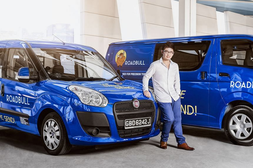 Roadbull's founder Alwin Liang says he can offer a better service because the start-up owns the vehicles and employs the drivers.