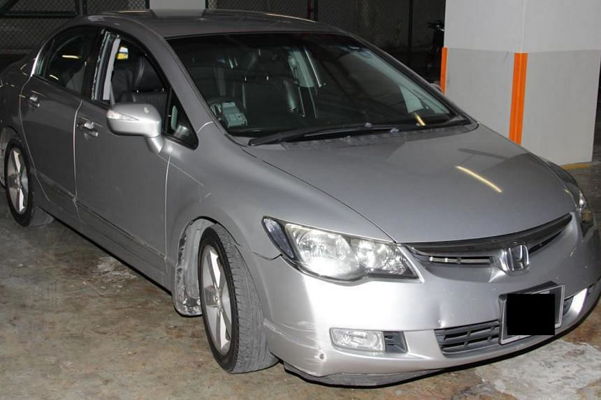 The car involved in the operation.
