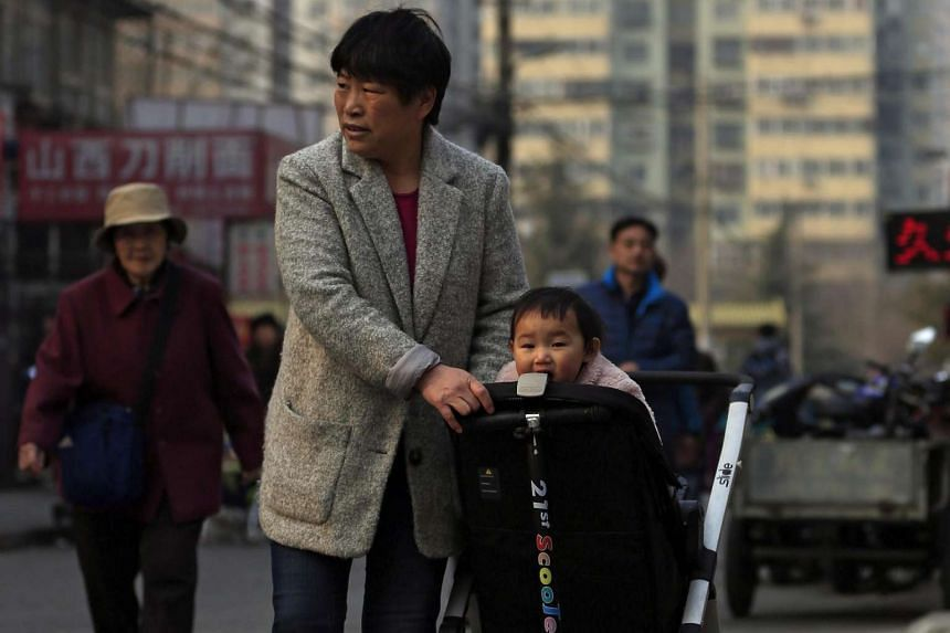 """The ruling Chinese Communist Party last year said it would relax its long-standing """"one-child policy""""."""