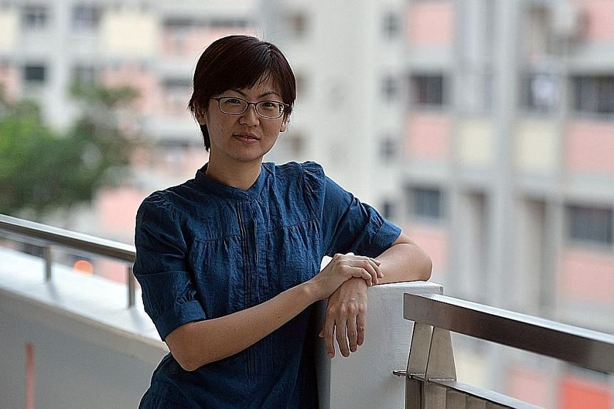 About five to six years ago, Ms Yap completed a diploma in disability studies with the Social Service Institute. She then went on to take up a higher diploma in social service three years ago. Now, she is doing a part-time degree course in social wor