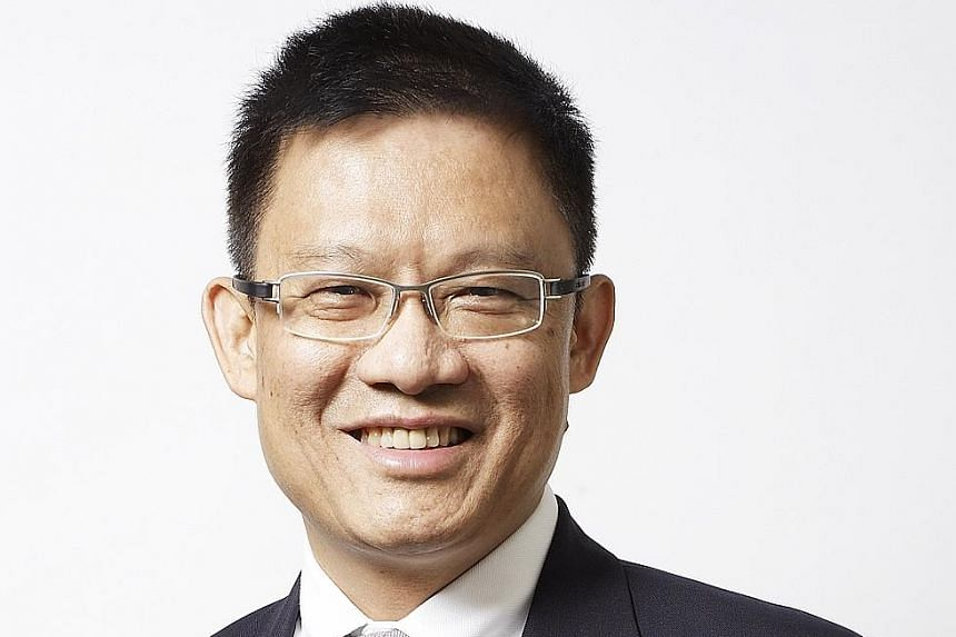 Mr Tan Pheng Hock, outgoing president and chief executive of ST Engineering.