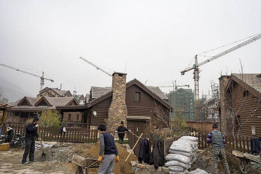 """The Jackson Hole resort community on the outskirts of Beijing, known in Chinese as Hometown America, attracts residents dreaming of a """"free and uncomplicated life""""."""