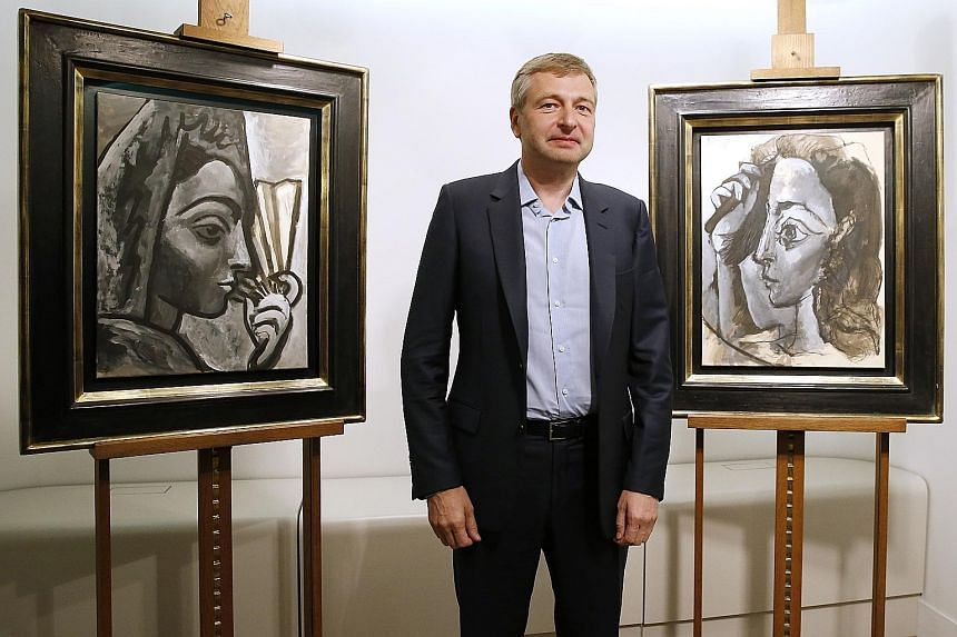 Russian billionaire Rybolovlev built an art collection with the help of Swiss freeport magnate Bouvier (below). Mr Bouvier, a Singapore PR, had wanted the dispute to be settled in the Swiss courts.