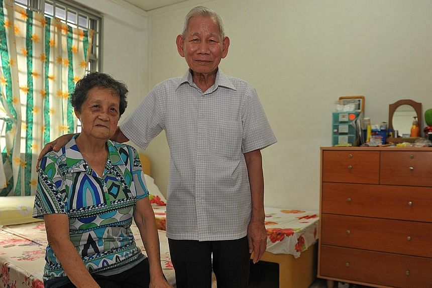 Madam Lai and Mr Foo are two of the beneficiaries of the Silver Support Scheme, which will provide them with $750 every three months. They live in a one-room rental flat in North Bridge Road and have neither CPF money nor savings. They currently get