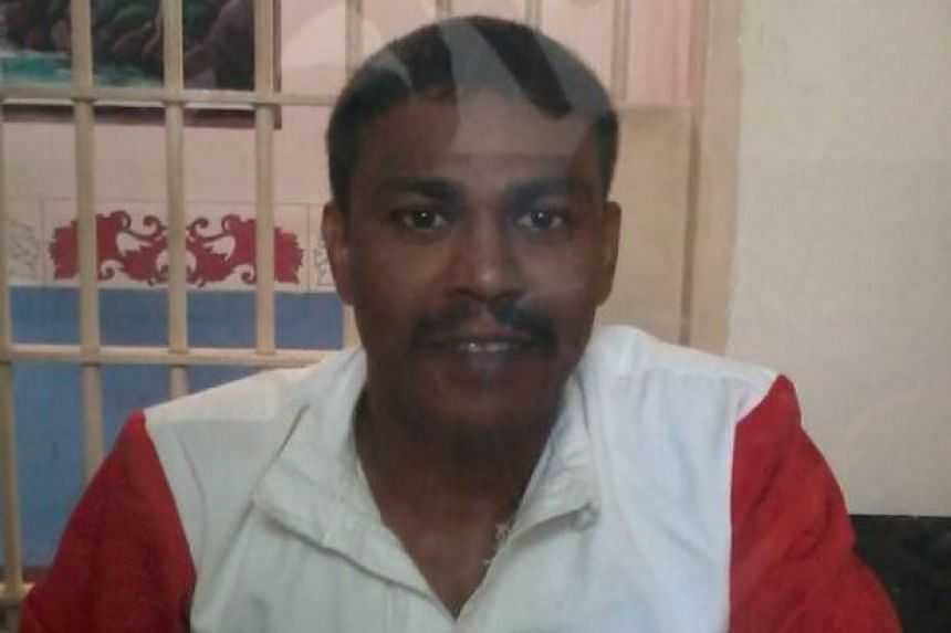 One of the executed inmates Gunasegar Pitchaymuthu (above), whose family members were told of his impending execution just a day before he was put to death on Friday morning (March 25).