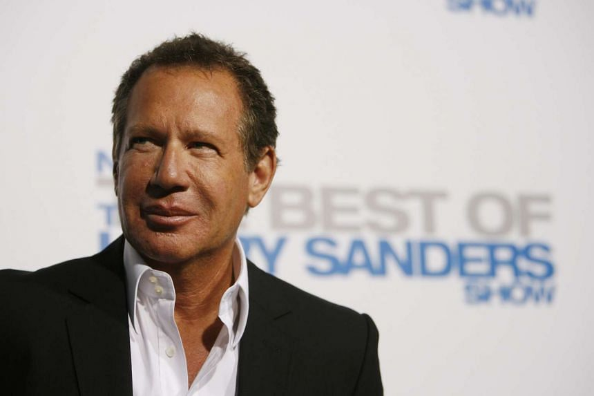 Garry Shandling attending a party in Beverly Hills, California, in 2007.