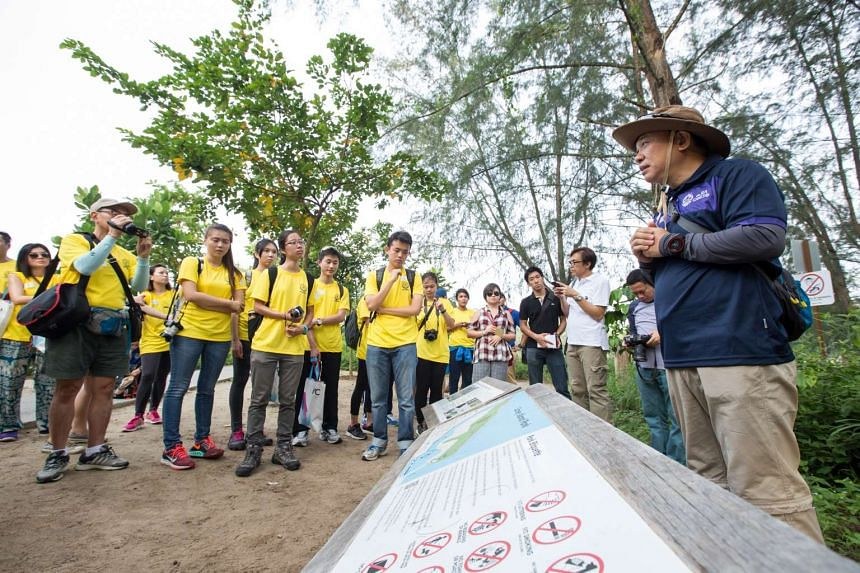 An SGFuture session on Coney Island last month, organised by Outward Bound Singapore. A new campus there would enable more people to join an OBS expedition.