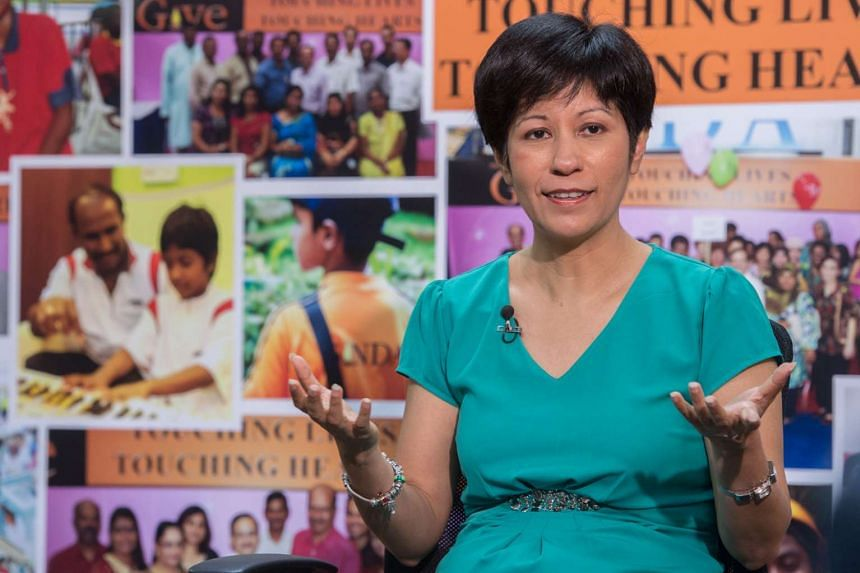 Ms Indranee Rajah, Senior Minister of State for Law and Finance, said that women have to speak up to effect change.