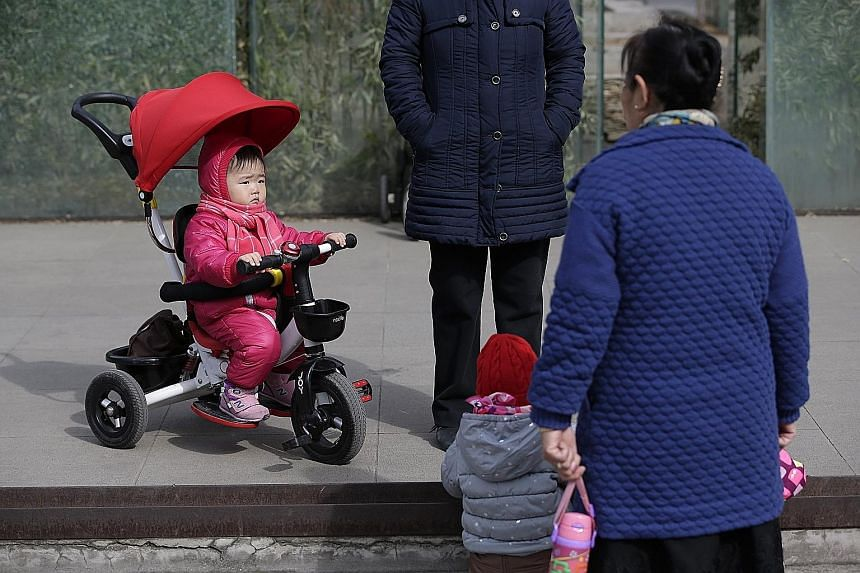 Under new regulations for Beijing, couples who already have a child each from a previous marriage can have another baby. Couples across China are now allowed to have two children instead of just one.