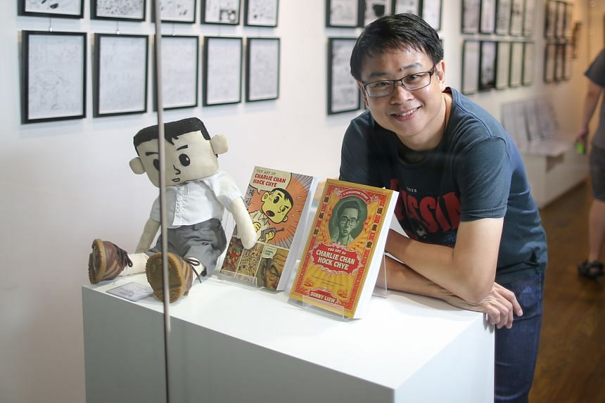 Sonny Liew's graphic novel, The Art Of Charlie Chan Hock Chye, is on international bestseller lists compiled by Amazon and The New York Times.