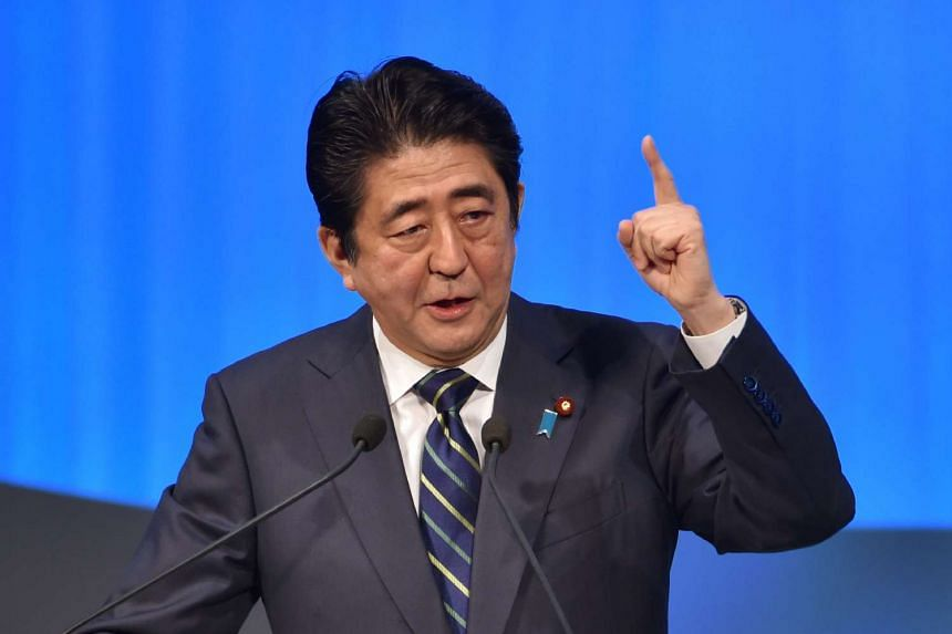 Japan's Prime Minister Shinzo Abe plans to announce a package of new spending measures to boost the economy.