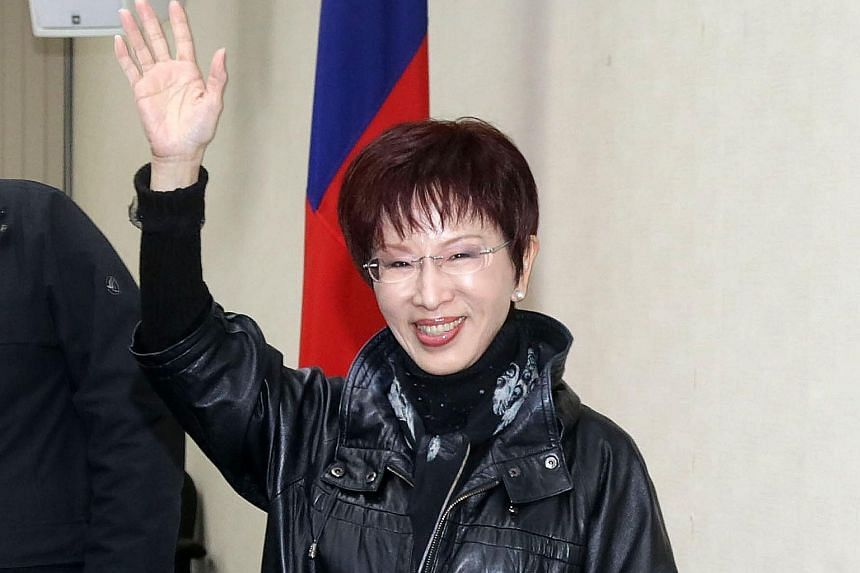 Ms Hung Hsiu-chu has vowed to revive the Kuomintang after its crushing defeat in the national elections.