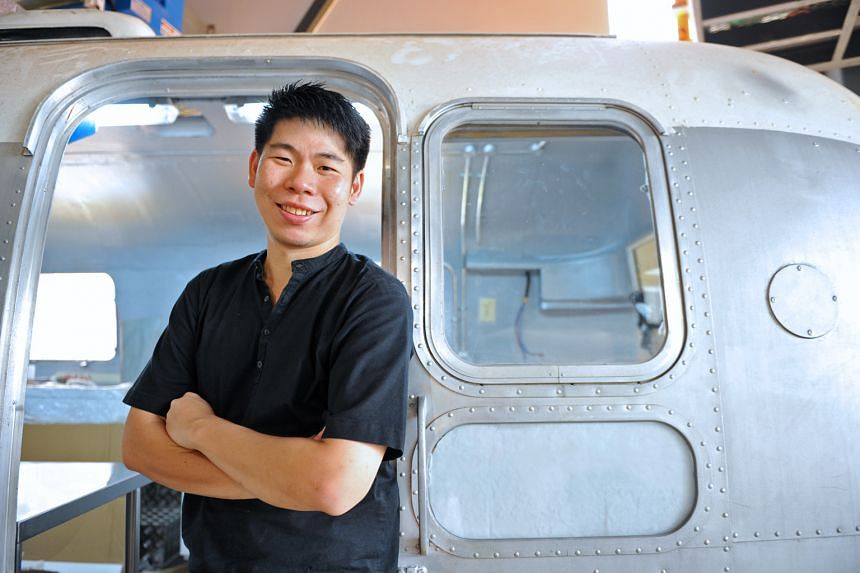Chef Chung Deming serves rice bowls with Singapore-style charcoal-grilled meats.