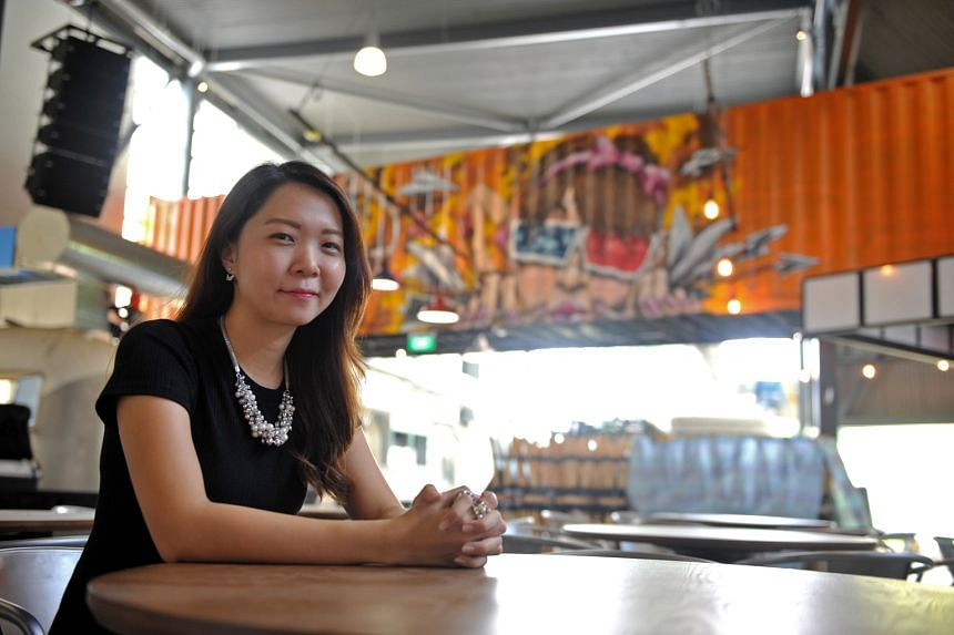 Ms Kelly Wong (above) will serve her beef brisket spinach noodles.