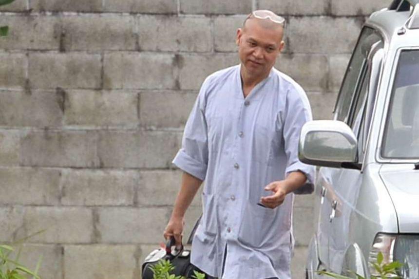 Former MediaCorp actor Xie Shaoguang officially became a monk in 2013.