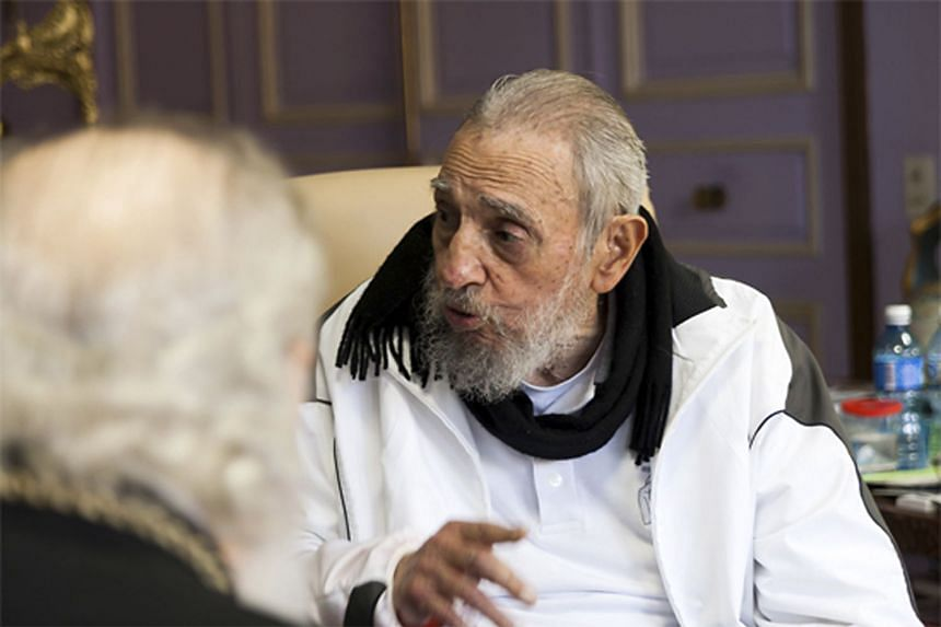 Fidel Castro seemed unwilling to forgive and forget more than a half-century of enmity between the US and Cuba.