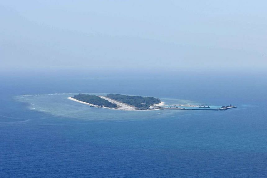 Itu Aba, the islet which Taiwan calls Taiping.