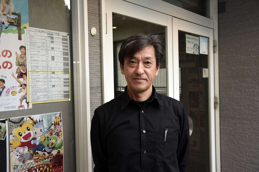 Mr Yasuhiro Abe, 52, general manager of a movie theatre, has been living apart from his wife and 14-year-old daughter since the disaster in 2011.