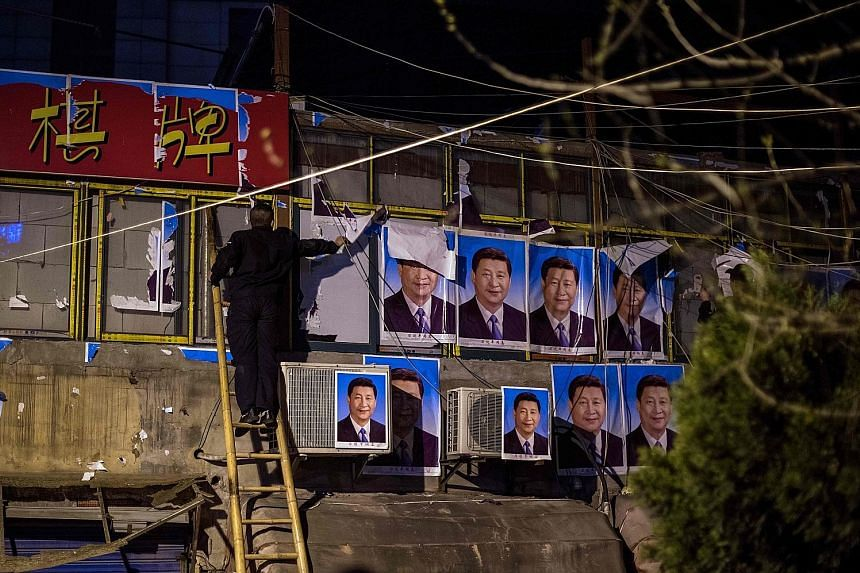 A two-storey building in Shanghai came under the spotlight over the weekend. It was completely covered in posters of President Xi Jinping in what appeared to be a last-ditch attempt to escape demolition. The prefabricated building is believed to have